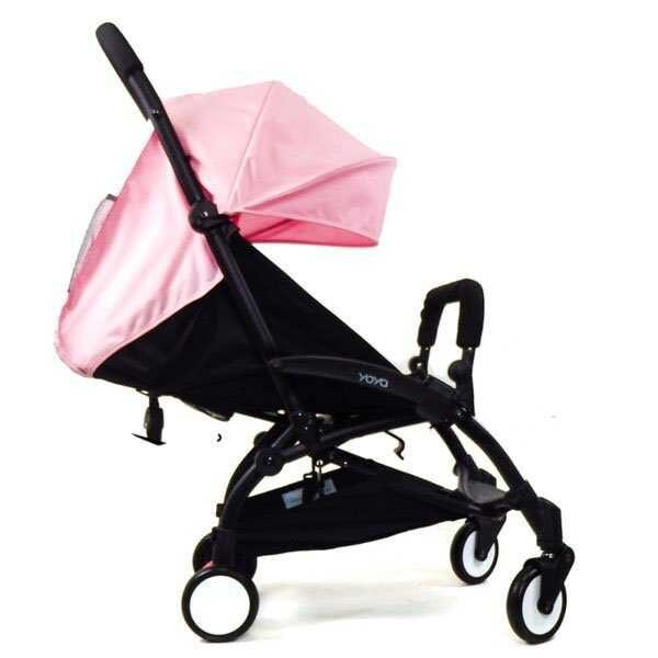 Прогулочная коляска YOYA 175 светло розовая