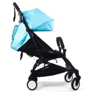 Прогулочная коляска YOYA 175 голубая