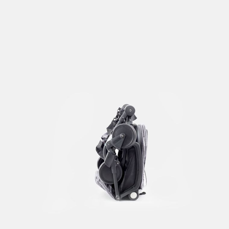 YOYA care 2018 Серая ( рама черная/белая)