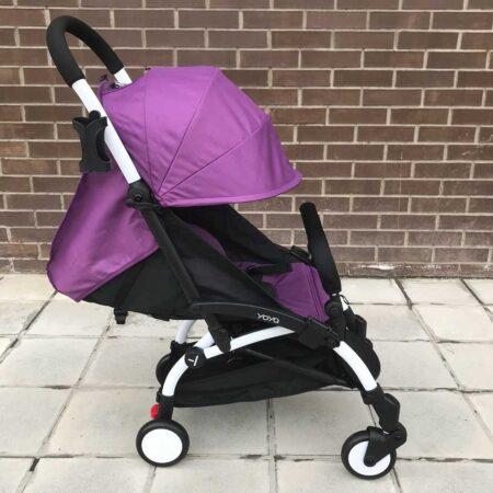 Прогулочная коляска YOYA 175 А+ фиолетовая