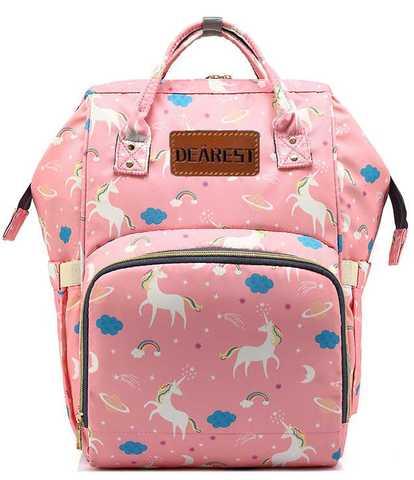 Рюкзак для мамы Yoya Dearest розовый единорог