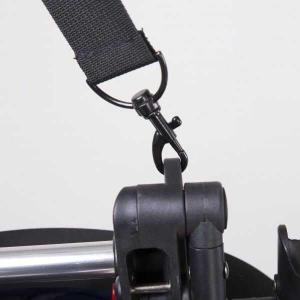 Прогулочная коляска YOYA 175 ЭКО-кожа чорная