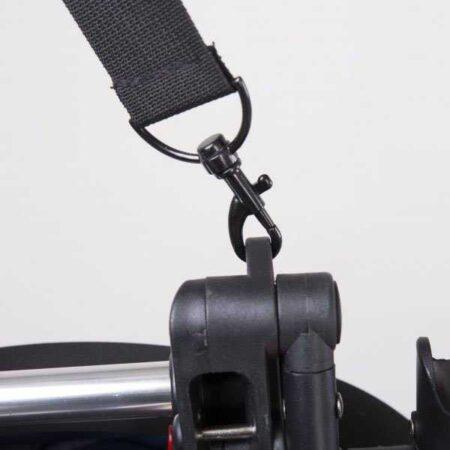 Прогулочная коляска YOYA 175 ЭКО-кожа чорная Минни