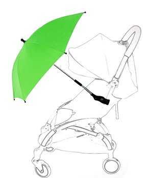 Зонт yoya с креплением зеленый