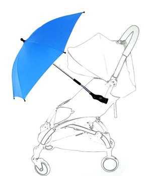 Зонт yoya с креплением розовый